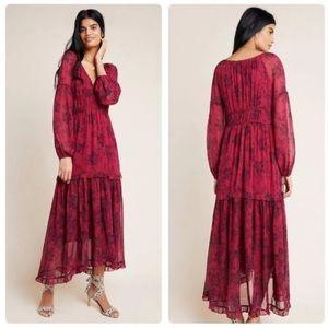 💝Anthropologie💝 Annabella maxi dress. Maeve.